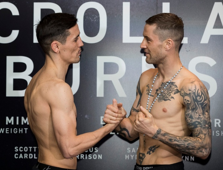 MRN Crolla Burns Weigh In 17